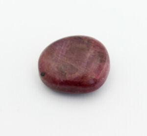 Natura Rubin Pietra Burattata Dure Curativa Dekostein Minerali Rari Rosso 42