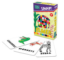 Elmer Snap and Pairs Children's Card Game - Brand New