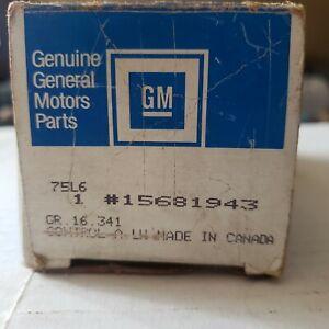 NEW GM GENUINE INNER FRONT DOOR HANDLE 85-92 ASTRO SAFARI LH INTERIOR 15681943