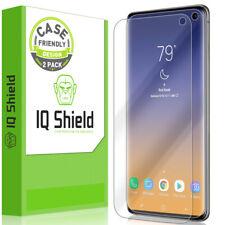 2x IQ Shield  Screen Protector Galaxy S10 6.1 Case Friendly, Version 2