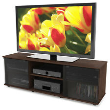 TV Stand Media Console Storage Cabinet Home Theater Entertainment Center Wood