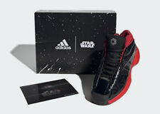 "BNIB! STAR WARS X ADIDAS CRAZY 1 ""DARTH VADER"" Basketball Shoe Size, 7, 8, 9, 10"