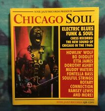 Chicago Soul CD Soul Jazz Records SEALED Howlin Wolf DOROTHY ASHBY Muddy Waters