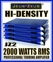 NEW! JEUS ZEUS 2000W 1U POWER AMPLIFIER FOR  LINE ARRAY MONITOR MIXER