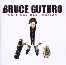 BRUCE GUTHRO - NO FINAL DESTINATION  CD NEU