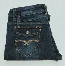 SIZE 10 QUEENSPARK STRAIGHT LEG, MID RISE, STRETCH JEANS