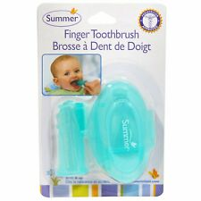 Finger Toothbrush with Case