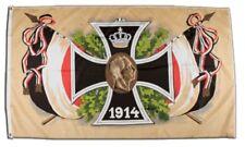 Bandiera Deutsches Reich croce di ferro 1914 bandiera hissflagge 90x150cm