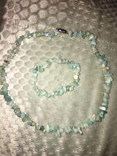 TJC Amazonite Necklace  and Bracelet
