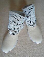 Boots Booties Emu Damen Leder naturfarben Größe 40 NEU made in Australia