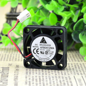 AFB0412MA DELTA 4CM 4010 12V 0.1A 2 Wire Cooling Fan Dual Ball