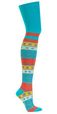 Sock It To Me Women's Over the Knee Socks - Sunrise