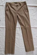 JOOP! Damen-Hose mit Bügelfalte, Größe 40, beige