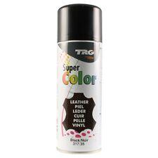 TRG Leather Vinyl Dye Spray/Shoe/Boot/Car Seat/Handbags 400ML (5 Colours)
