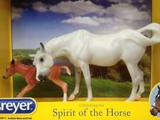 Breyer Arabian Mare & Foal #430011 le fire susecion re issue