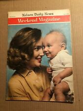 MAGAZINE ARTICLE: WEEKEND MAGAZINE, CFL SANDY STEPHENS IS A TEST, SEPT 8, 1962