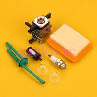 Carburetor for Stihl MM 55 MM55C Tiller Air Fuel Filter primer bulb 46011200600