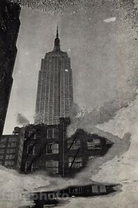 1967/72 ANDRE KERTESZ Vintage EMPIRE STATE Building Architecture New York City