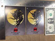 (Lot of 2) Batman Ninja Postcards 2017 NYCC Takashi Okazaki DC Comics