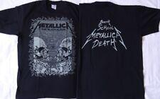 METALLICA The Black Album BIRTH SCHOOL METALLICA DEATH UNIQUE T-SHIRT OFFICIAL