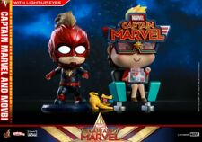 Hot Toys COSB546 Captain Marvel Movbi Cosbaby (S) Bobble-Head HT model doll