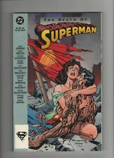 Death Of Superman TPB - Signed By Brett Breeding - (Grade 9.2+) WH