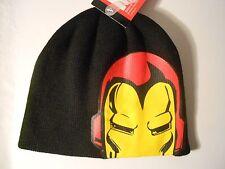 Marvel IRON MAN Men's Beanie/Knit Hat/Stocking Cap - Avengers Infinity War, NWT