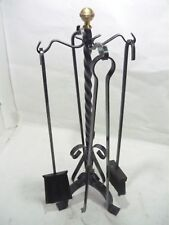 Tools from camino fireplace 4 pcs. wrought iron