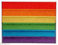 Rainbow Patch 12cm x 9cm approx