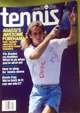 'Tennis' Us Tennis Rivista - Ottobre 1988- Andre Agassi