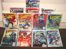 "2004 DC COMICS ""SUPERMAN"" JIM LEE & BRIAN AZZARELLO 12 ISSUE SET"