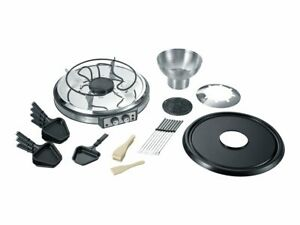 SEVERIN Raclette/fondue/hot stone 1.9 kW brushed stainless steel/black RG 2348