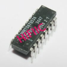 5PCS TDA7053A STEREO BTL AUDIO OUTPUT AMPLIFIER DIP16