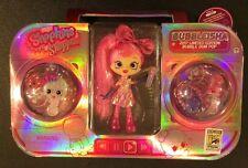 SHOPKINS SHOPPIES BUBBLE GUM POP BUBBLEISHA Doll SDCC Exclusive NEW Ltd to 1500
