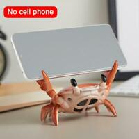 Crab Bluetooth Speaker Portable Mobile Wireless Phone Holder Penholder Novel
