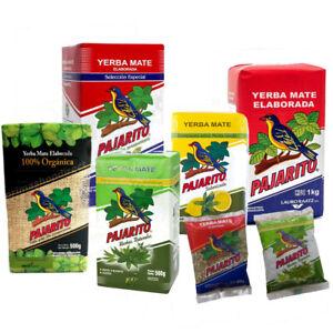 YERBA MATE PAJARITO Paraguay- HERBAL, CLASSIC- energy boost tea 500g, 1kg