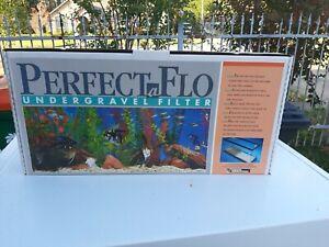 Perfect-A-Flo Undergravel Fish Aquarium Filter 13x48
