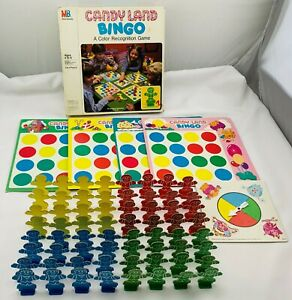1979 Candy Land Bingo Game by Milton Bradley Complete Great Condition FREE SHIP
