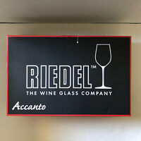 RIEDEL Accanto Red Wine Glass  Set of 4  #0490/0 Made in Germany NEW