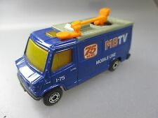 "Matchbox: 1:73 Scale, Mercedes Benz ""Mb TV 75 News"" Mobile One (SSK42)"