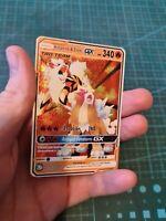 Arcanine / Arkani and Entei Pokemon GX  Tag Team Custom Proxy Card In Holo