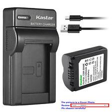 Kastar Battery Slim Charger for Panasonic CGA-S006 & Panasonic Lumix DMC-FZ35