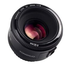 Yongnuo EF 50mm F/1.8 Auto Focus AF/MF Lens for Canon 500D / 600D / 650D / 700D