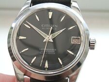 Gents Citizen Newmaster all Stainless steel 21J manual wind watch with box.