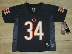 Chicago Bears Walter Payton #34 Football Jersey Kids size 5/6 - Bears Legend