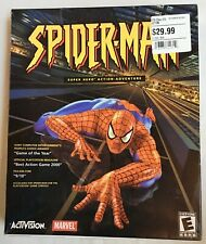 Spider-man SEALED PC video game Activision big box 2001 super hero action adv