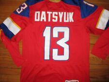 NWOT Pro Style TEAM RUSSIA #13 PAVEL DATSYUK Hockey Jersey XL Nike Sewn W/Strap