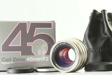 DHL [UNUSED IN BOX] Contax Zeiss G Planar T* 45mm f/2 Lens for G2 G1 From JAPAN