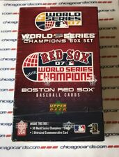 Boston Red Sox 2007 UD World Series Champions Factory Sealed 51-card Box Set
