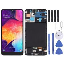 LCD SCREEN SAMSUNG GALAXY A50 SM-A505 WITH FRAME ECRAN DISPLAY PANTALLA SCHERMO